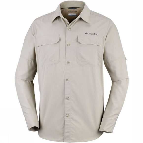 Columbia Silver Ridge II LS Shirt Zandbruin