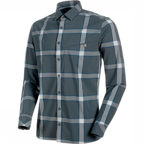 Mammut Mountain  Shirt Middengrijs