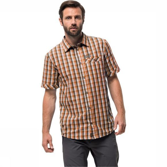 Jack Wolfskin Napo River T-shirt Roest