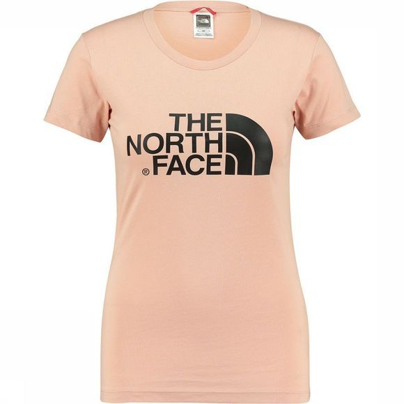 The North Face Easy T-Shirt Dames Lichtroze