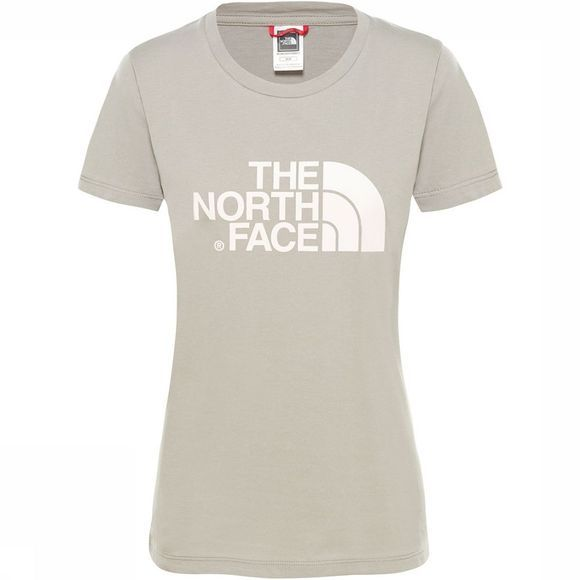 The North Face Easy T-Shirt Dames Taupe