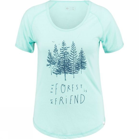 tentree Forest T-shirt Dames Lichtblauw