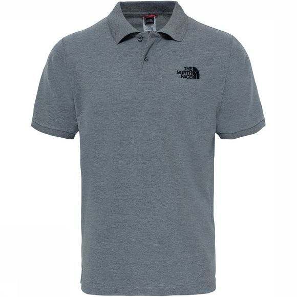 The North Face Polo Piquet Heren Lichtgrijs/Lichtgrijs Mengeling