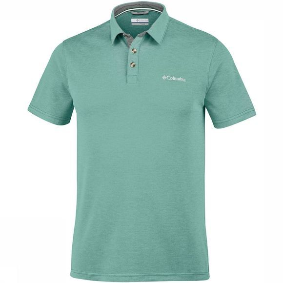 Columbia Nelson Point  Polo Lichtgroen
