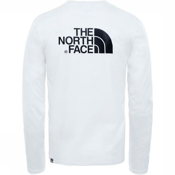 The North Face L/S Easy T-shirt Wit