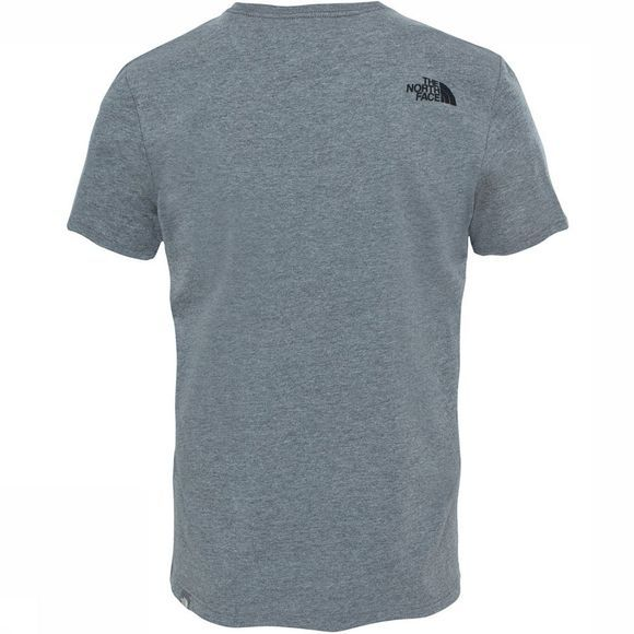 The North Face Woodcut Dome T-Shirt Lichtgrijs Mengeling