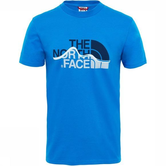 The North Face Mountain Line T-Shirt Koningsblauw