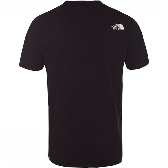 The North Face Mountain Line T-Shirt Zwart