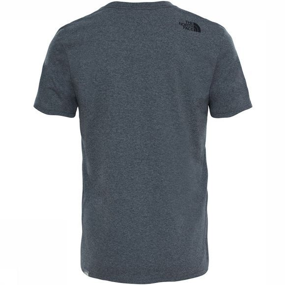 The North Face Mountain Line T-Shirt Lichtgrijs Mengeling