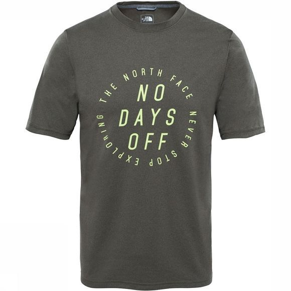 The North Face Graphic Reaxion T-shirt Donkerkaki