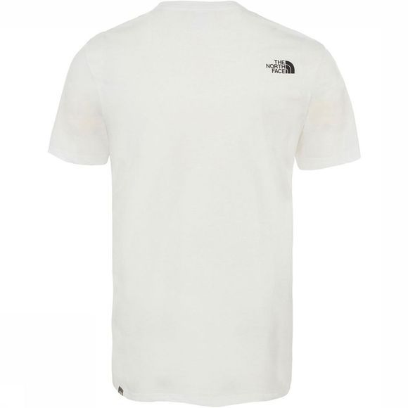 The North Face Cel Easy Tee Shirt Wit/Middengrijs