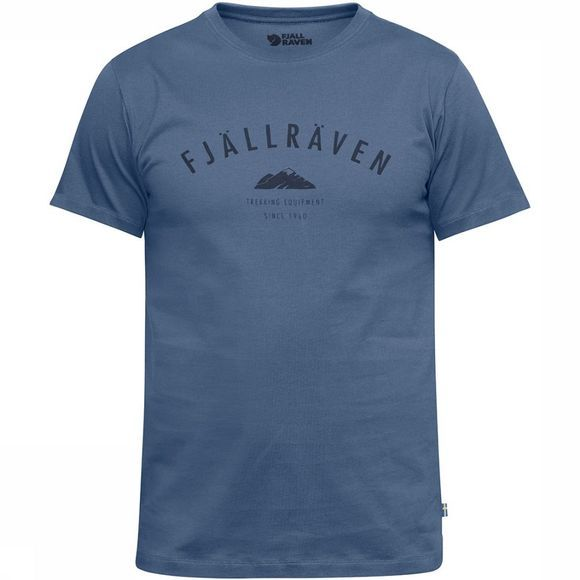 Fjällräven Trekking Equipment T-shirt Lichtblauw