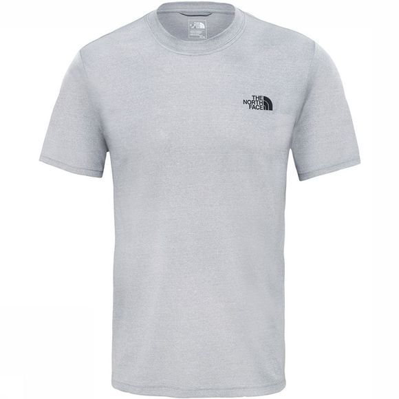 The North Face Reaxion Ampere Crew Shirt Lichtgrijs Mengeling/Lichtgrijs