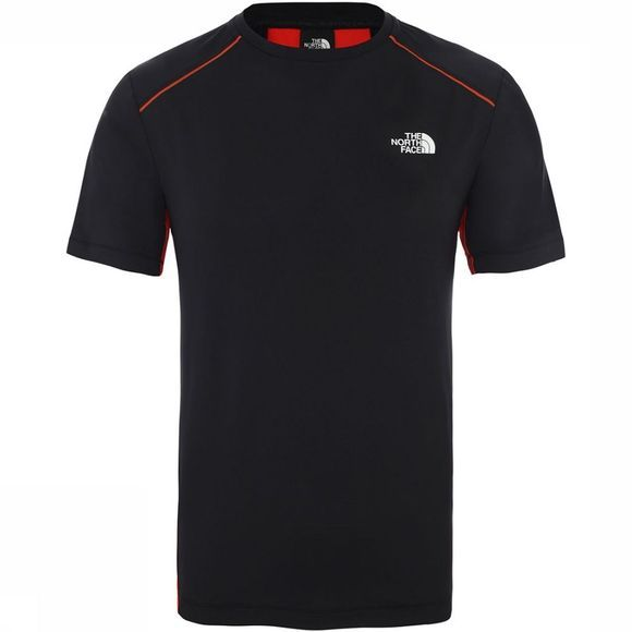 The North Face Apex Shirt Zwart/Rood