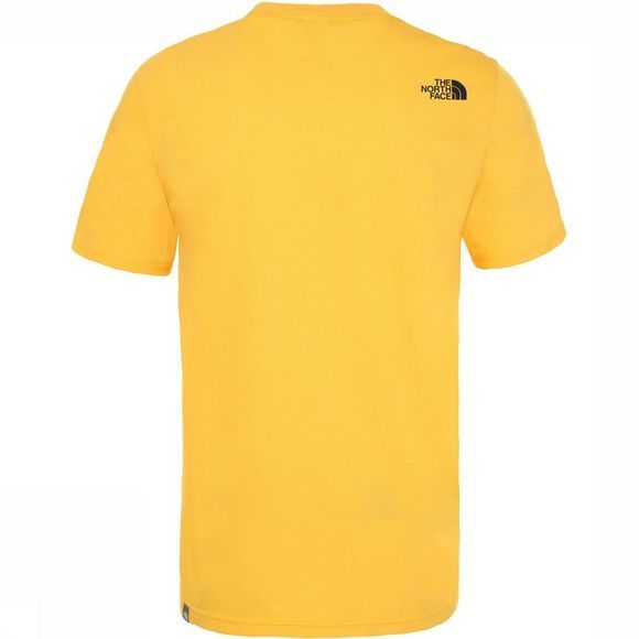 The North Face Easy Tee T-shirt Geel/Zwart