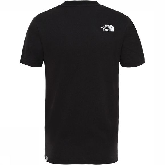 The North Face Box SS Shirt Junior Zwart/Wit