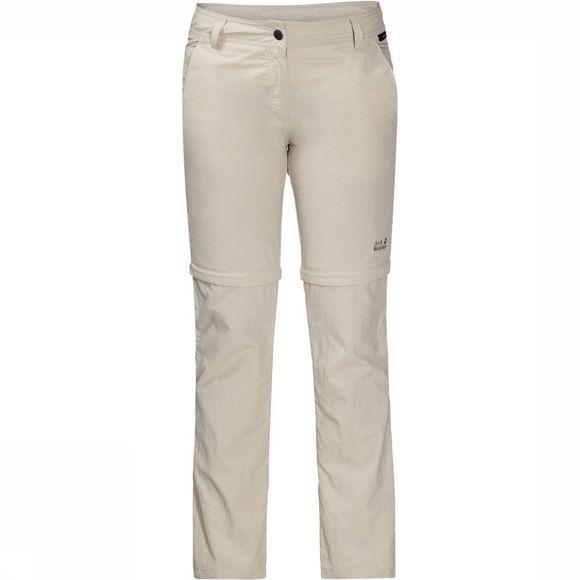 Jack Wolfskin Marrakech Zip Off Broek Dames Zandbruin