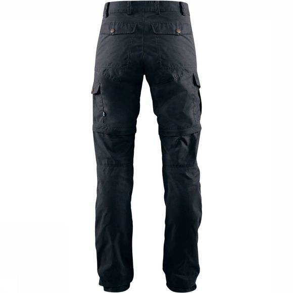Fjällräven Karla Pro Zip-Off Broek Regular Dames Donkerblauw