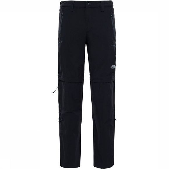 The North Face Exploration Convertible Regular Broek Zwart