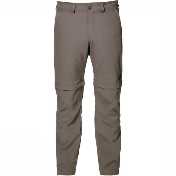 Jack Wolfskin Canyon Zip Off Regular Broek Zandbruin