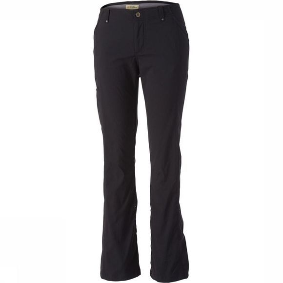 Royal Robbins Discovery Roll Up Broek Dames Zwart/Donkergrijs