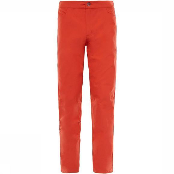 The North Face Beyond The Wall Rock Regular Broek Oranje