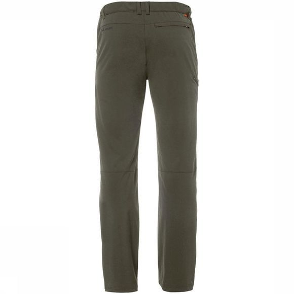 Vaude Farley Stretch II Long Broek Donkerkaki