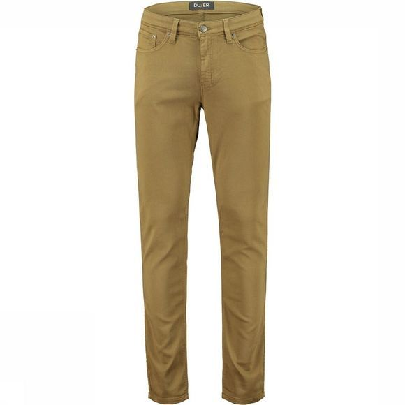 Duer No Sweat Pant Slim Fit Broek Brons