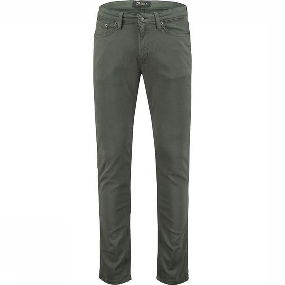 Duer No Sweat Pant Slim Fit Broek Middengrijs