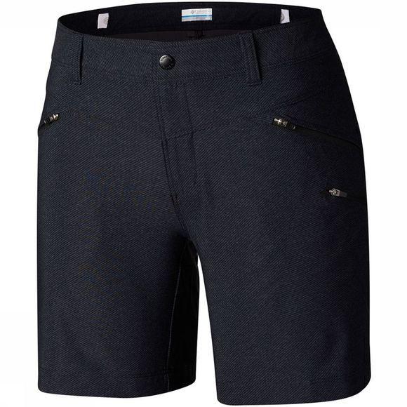 Columbia Peak to Point Short Dames Donkergrijs/Zwart