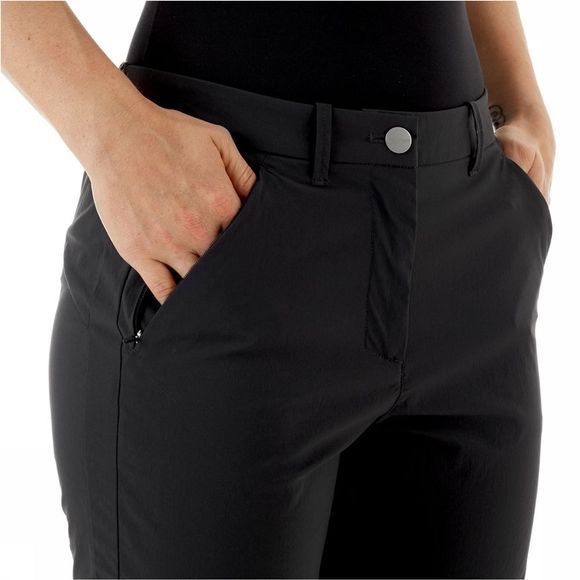 Mammut Hiking Shorts Dames Zwart