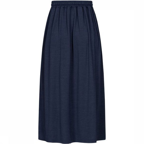 Supernatural Long Skirt Dames Donkerblauw
