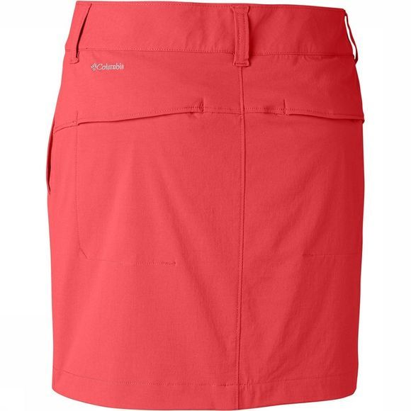 Columbia Saturday Trail Skort Dames Rood