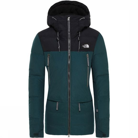 The North Face Pallie Down Jas Dames Donkergroen