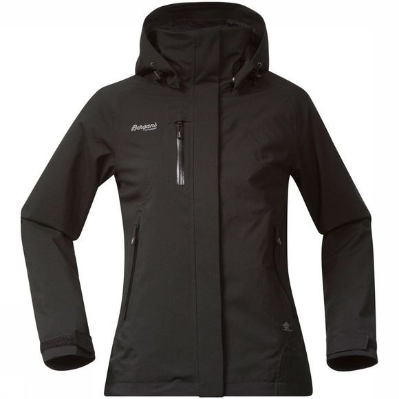 Bergans Flya Insulated Jas Dames Zwart