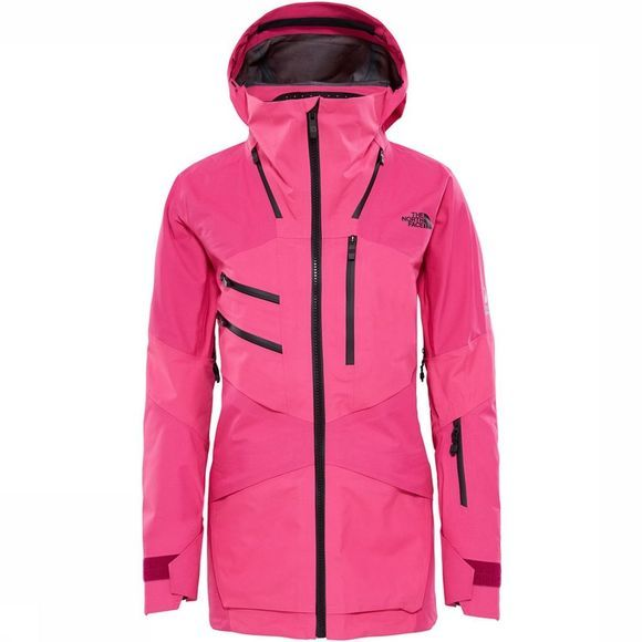 The North Face Fuse Brigandine Jas Dames Donkerroze/Middenroze