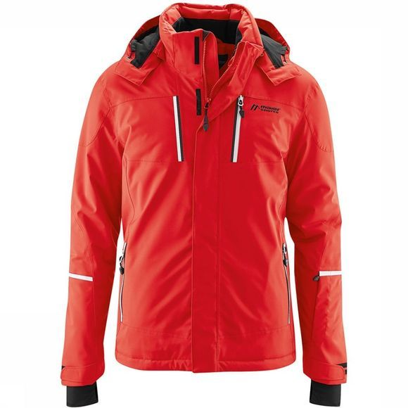Maier Sports Lupus Jas Rood