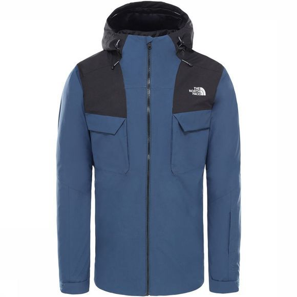 The North Face Fourbarrel Triclimate 3-in-1 Jas  Middenblauw/Zwart