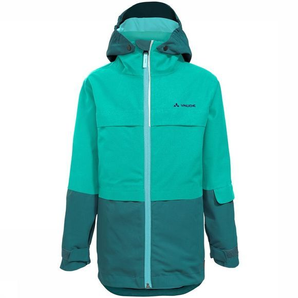Vaude Snow Cup 3-in-1 Jas Junior Groen/Middengroen