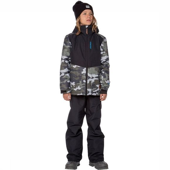 Protest Frome Jas Junior Donkerkaki/Assortiment Camouflage