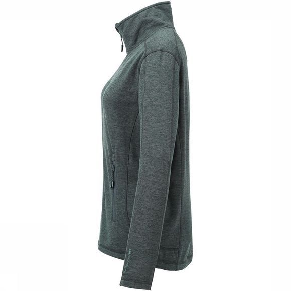 Tenson Lacy Fleece Vest Dames Middenkaki