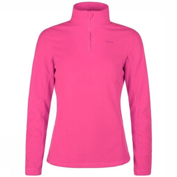 Protest Mutey 1/4 Zip Shirt Dames Middenroze
