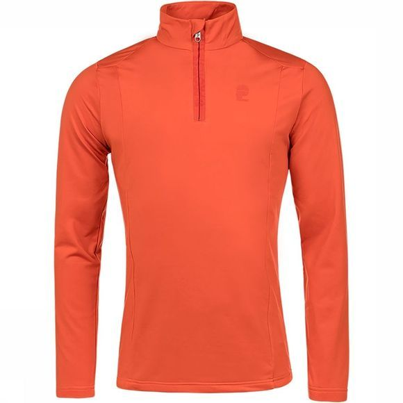 Protest Willowy 1/4 Zip Trui Koper/Oranje