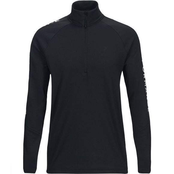 Peak Performance Ride Half Zip Vest Zwart