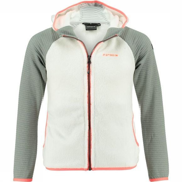 Icepeak Icepeak Ruby fleecejack Junior Wit/Middengrijs