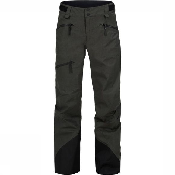 Peak Performance Teton Melange Broek Dames Donkerkaki