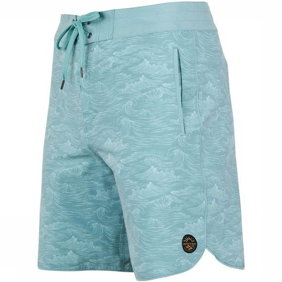 United By Blue Swell Scallop Boardshort Petrol