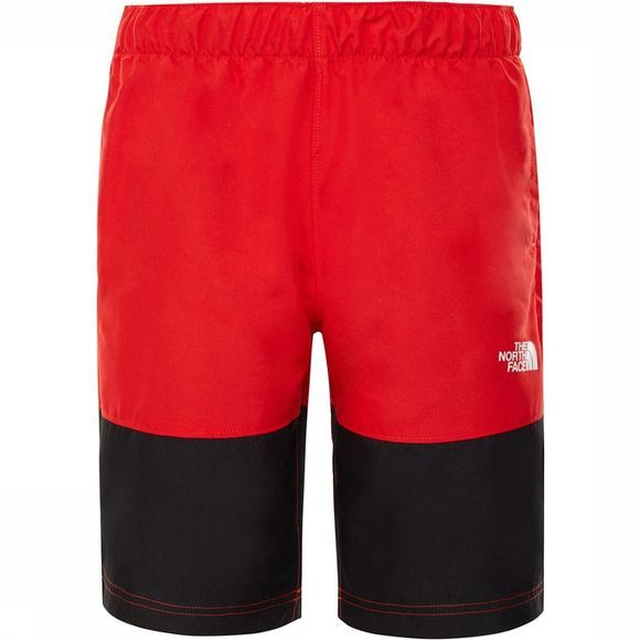 The North Face Class V Broek Junior Zwart/Rood