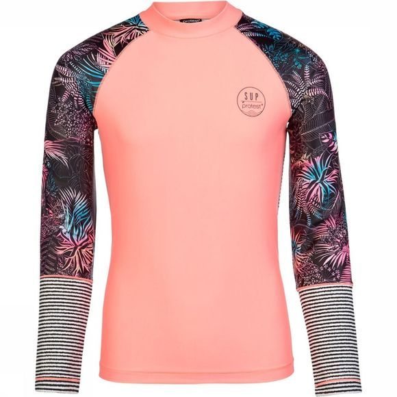 Protest Spirit Jr Longsleeve Rashguard Junior Zwart