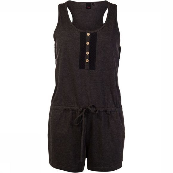Protest Amore Playsuit Dames Zwart